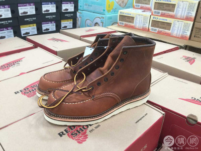 RED WING 男6吋皮靴 #1907系列 #779460